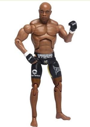 Anderson Silva vira bonequinho do UFC