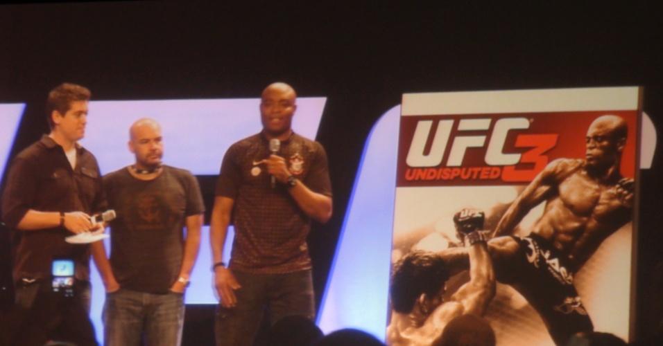 Anderson Silva é apresentado como capa do game do UFC