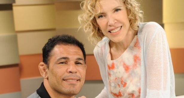 Marília Gabriela recebe Minotauro em programa do canal GNT