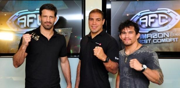 Murilo Bustamante, Thales Leites e Ronnys Torres vão estrelar o Amazon Forest Combat