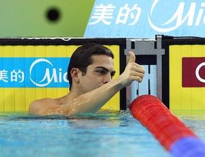 Reação: Kaio Márcio de Almeida cresce no fim e conquista a prata nos 200 m borboleta