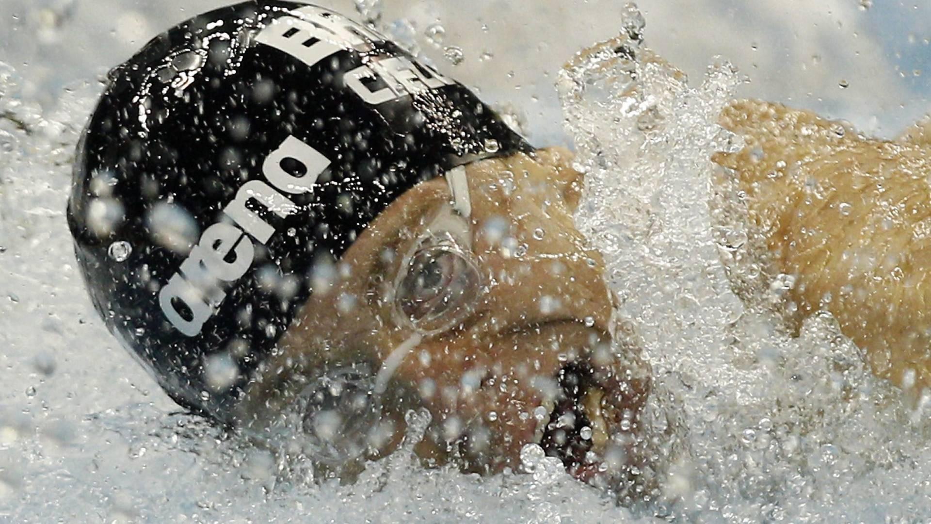 Cesar Cielo disputa semifinal dos 50 m borboleta no Mundial de Natação em Xangai (24/07/2011)