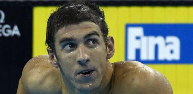 Michael Phelps, nadador norte-americano e maior atleta da história da Olimpíada