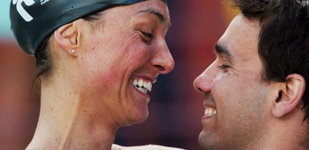 Fabiola Molina e Diogo Yabe são casados desde 2006 e querem bebê após Londres-2012