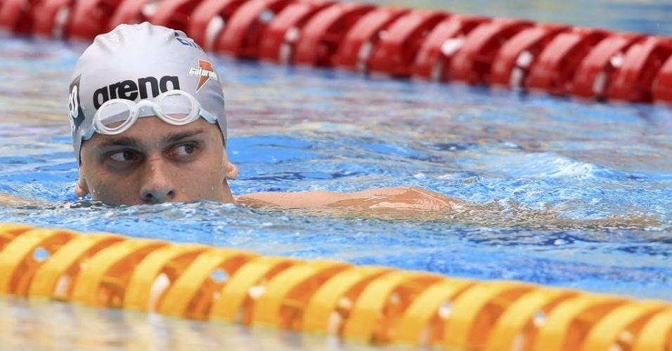 Cesar Cielo será a principal estrela da delegação olímpica do Brasil em Londres