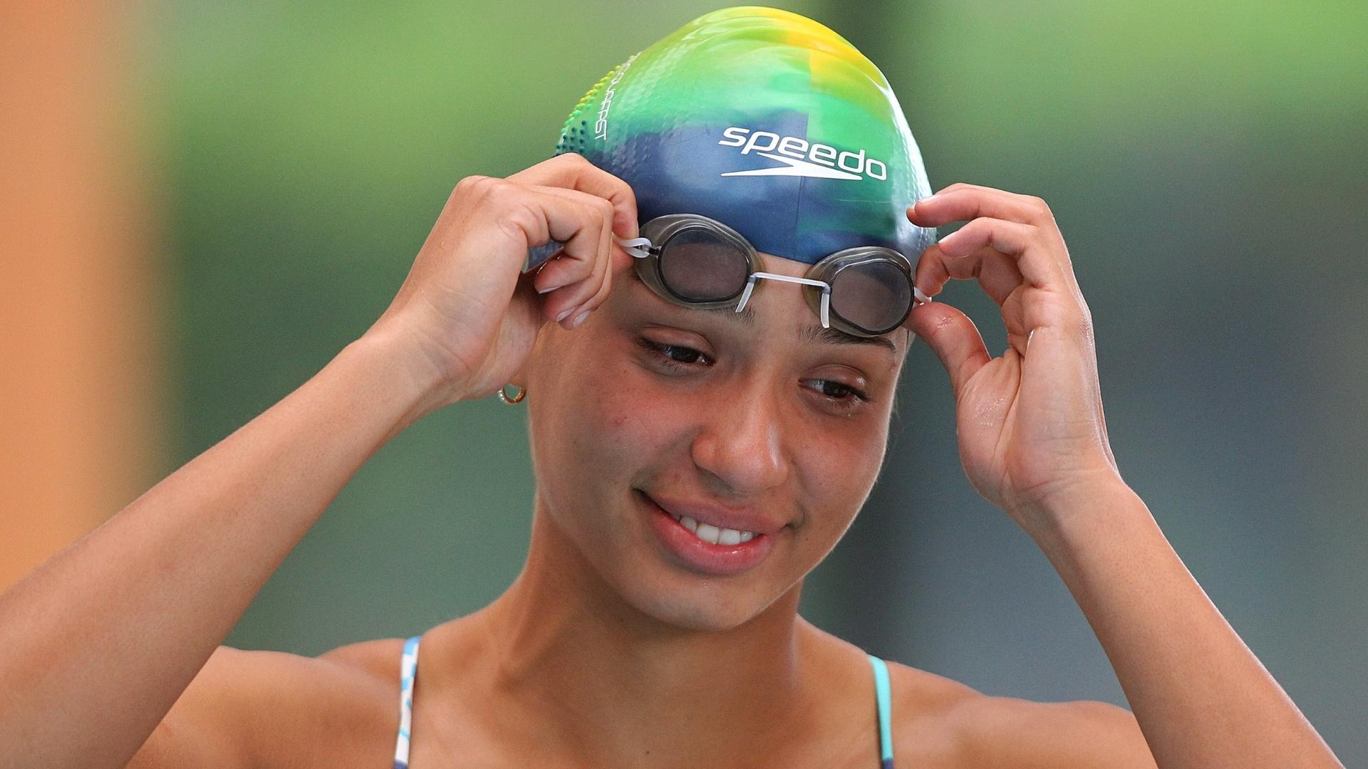 Ana Carolina Santos é cortada do Pan por falta de espaço na Vila Pan-Americana (09/10/2011)