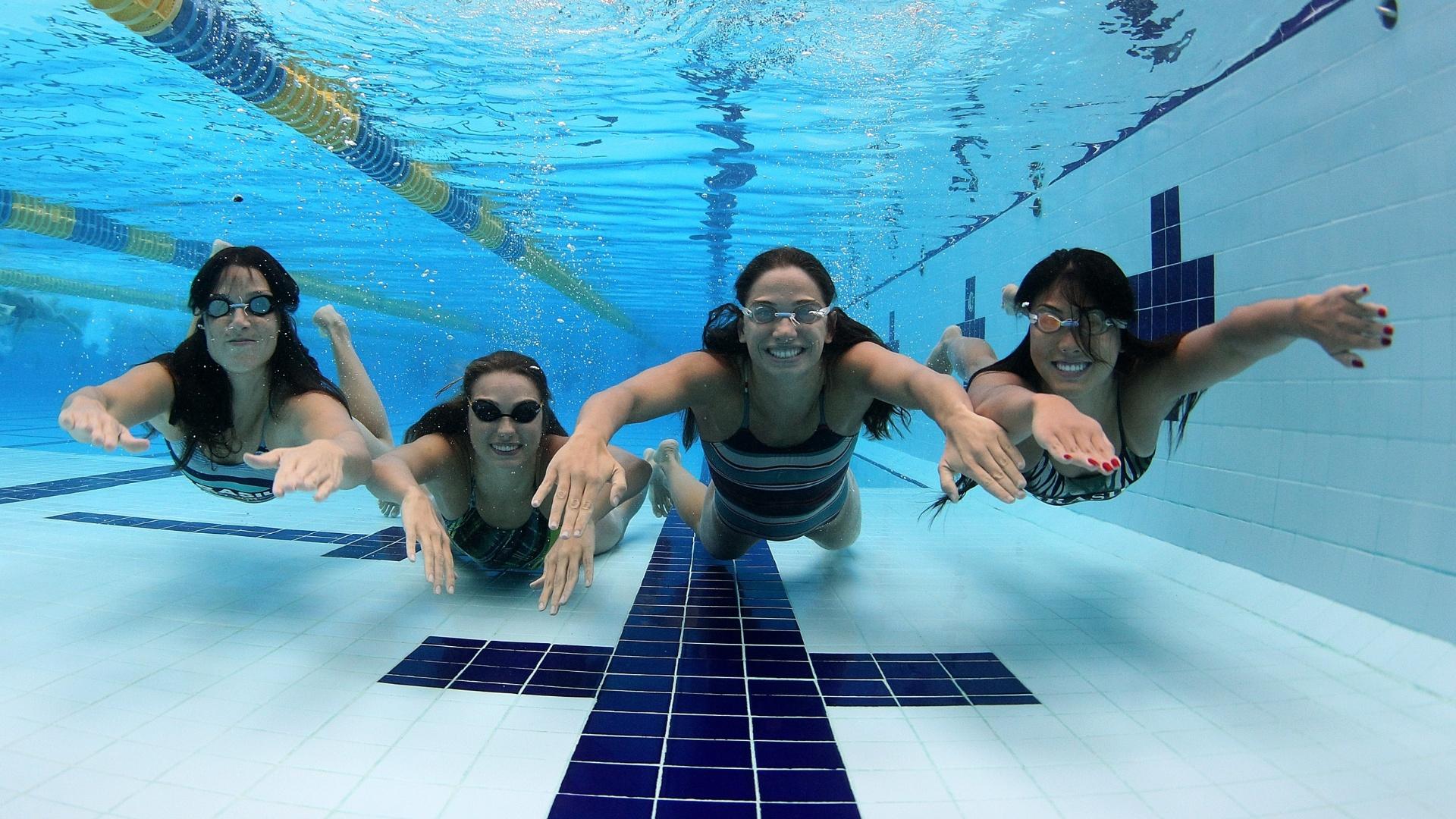 Michele Schmidt, Carolina Mussi, Thamy Ventorin e Tatiane Sakemi estão entre as nadadoras que representarão o Brasil no Pan de Guadalajara