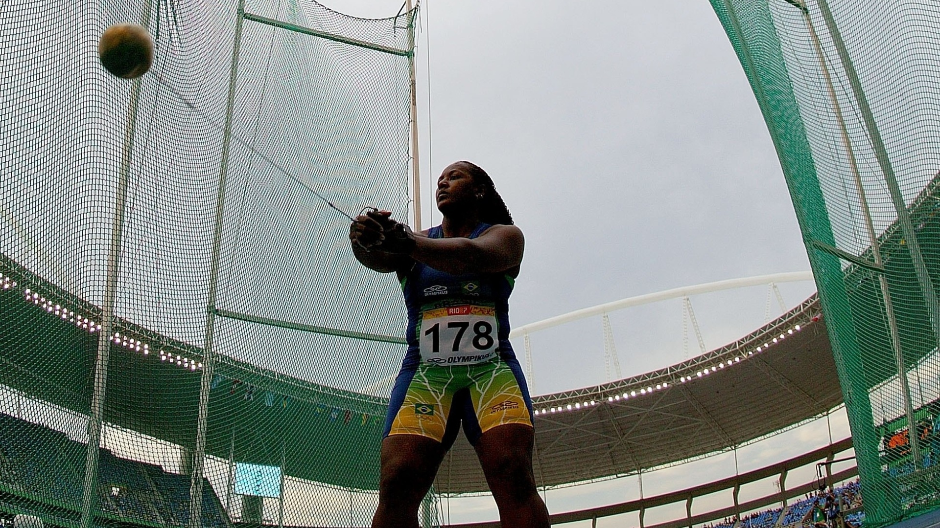 Depois de participar do Rio-2007, Josiane Soares estará em Guadalajara