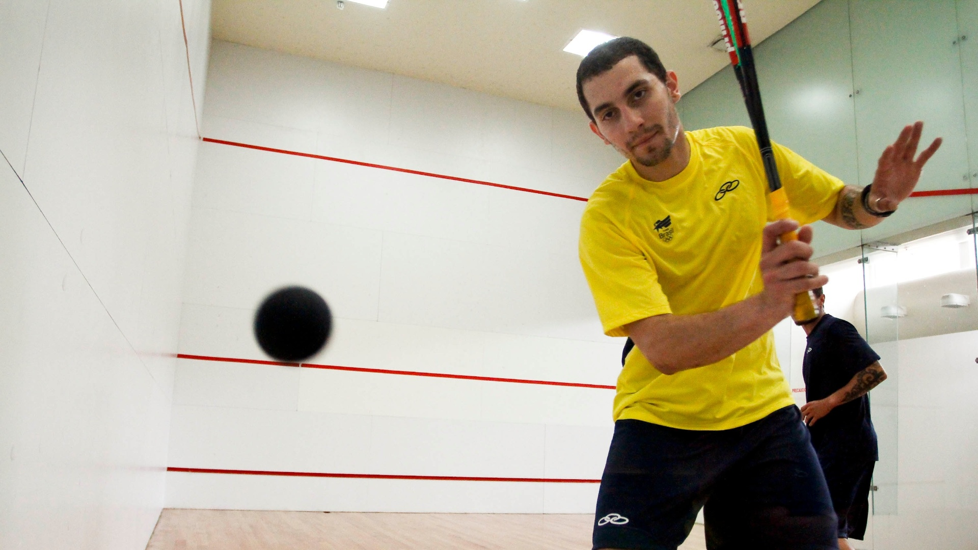 Vinicius Rodrigues, atleta do squash