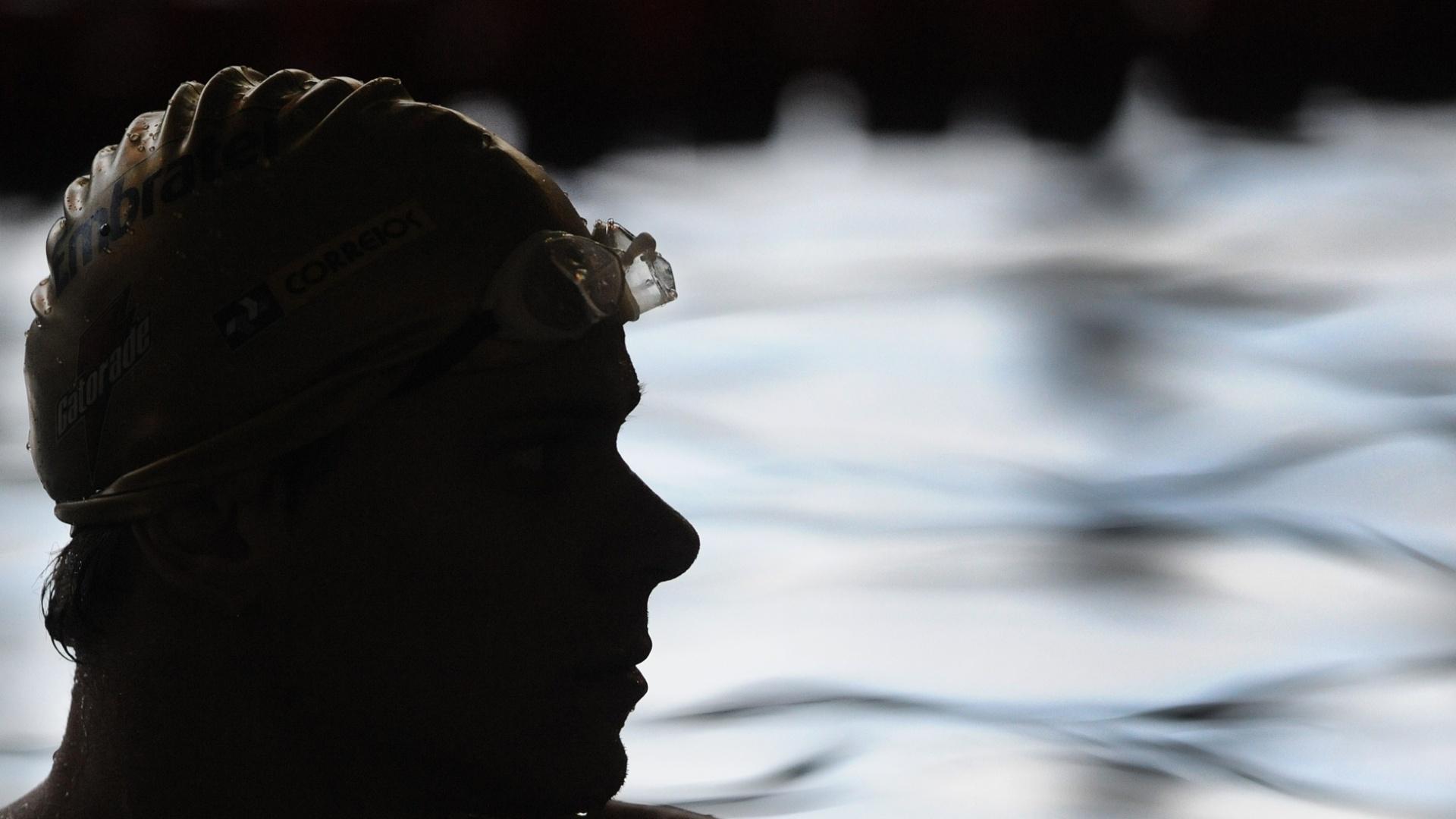 Cesar Cielo treina com a seleção brasileira de natação para o Pan. Atletas caem na água a partir de sábado