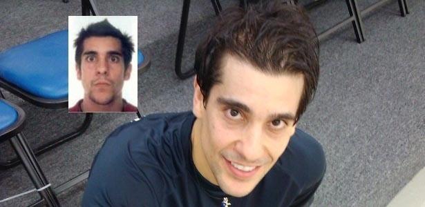 A foto de Rafael no guia do COB tem provocado gargalhadas nos companheiros