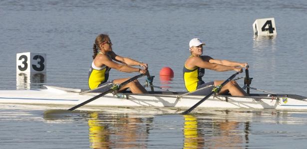 As brasileiras Carolina Araújo e Bianca Miarka foram para a repescagem do double skiff no remo