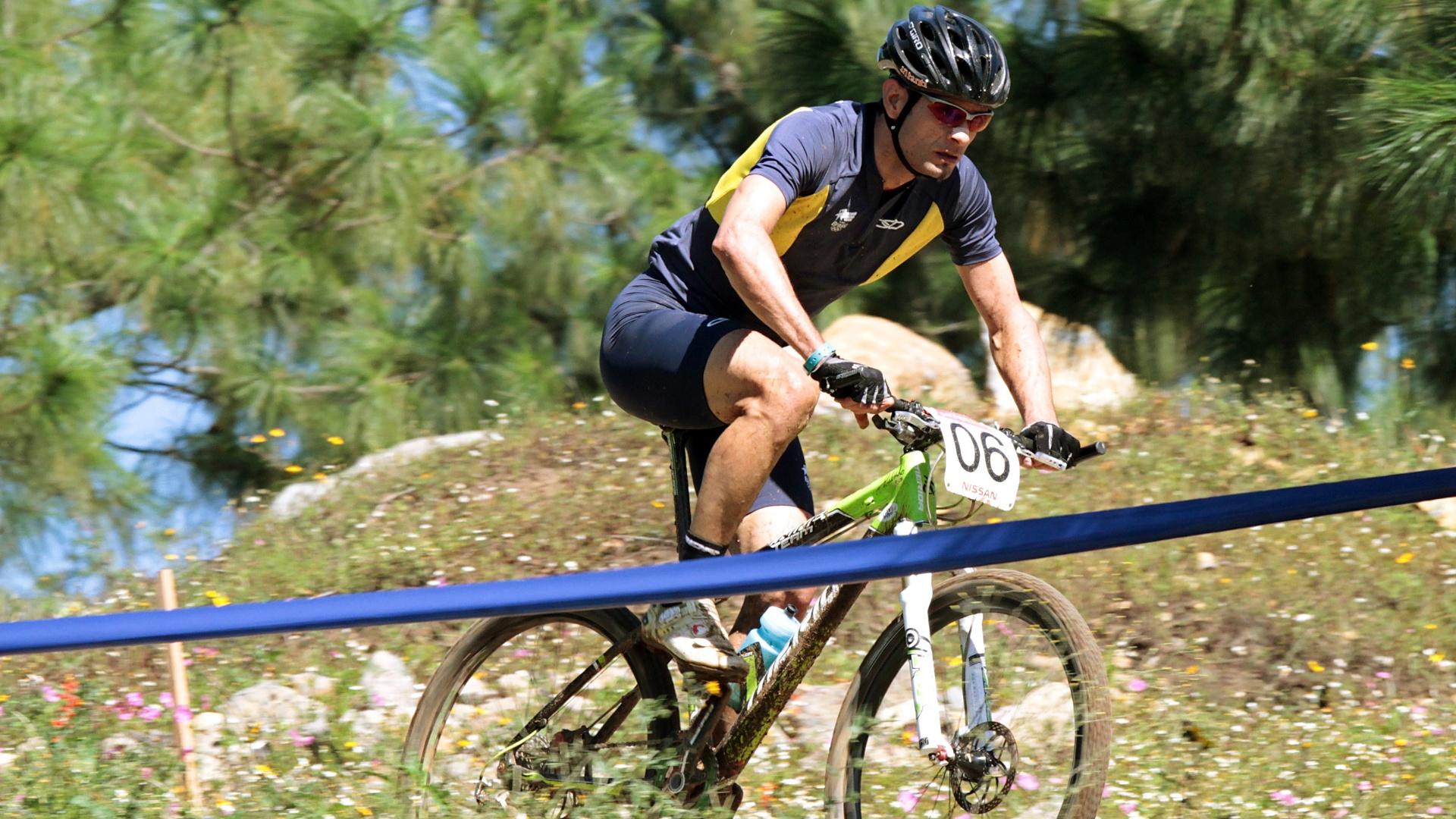 Depois da prata no Rio-2007, Rubinho ficou com a quinta colocação em Guadalajara (15/10/2011)