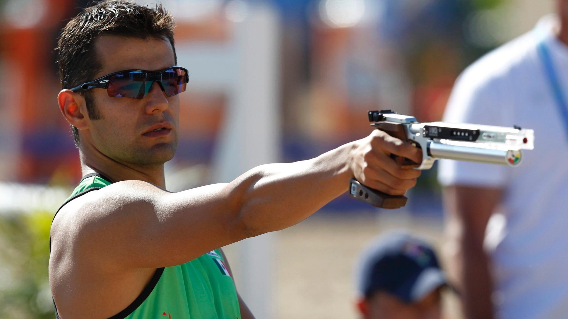 O mexicano Oscar Soto ficou com a medalha de ouro no pentatlo moderno