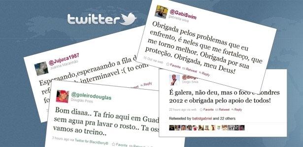 No Pan, Twitter é a ferramenta preferida: reclamações, desabafos e gafes de atletas