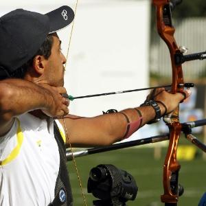 Daniel Xavier caiu nas quartas de final no individual do tiro com arco em Guadalajara
