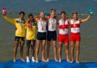 João Borges Jr e Alexis Mestre levam prata e Brasil conquista 1ª medalha no remo