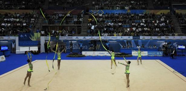 Meninas da ginástica rítmica conquistaram o terceiro ouro em Guadalajara
