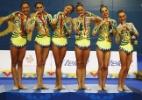 Conjunto da ginástica rítmica leva 3º ouro e fecha Pan com 100% de aproveitamento