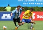 Dia de Brasil x Argentina no Pan tem expulsões, medalhas e ameaça de marmelada