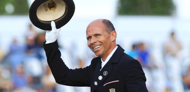 Steffen Peters, dos Estados Unidos levou o ouro no adestramento individual