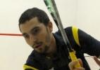 Brasileiro reclama e joga raquete no chão, mas Brasil perde e repete bronze no squash