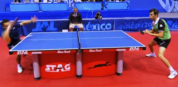 Monteiro perde para o mexicano Marcos Madrid nas quartas de final do tênis de mesa