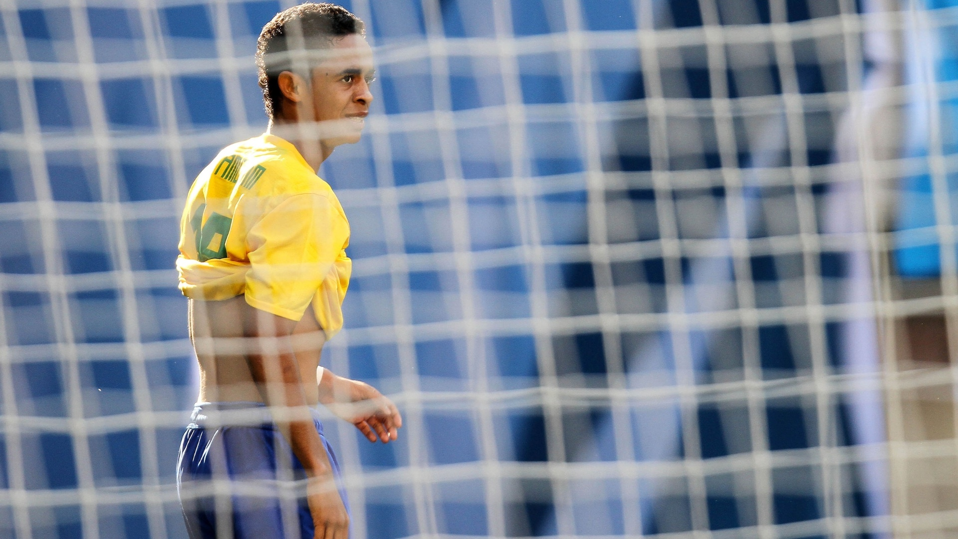 Felipe Amorim lamenta chance perdida do Brasil contra Cuba no Pan de Guadalajara (21/10/2011)