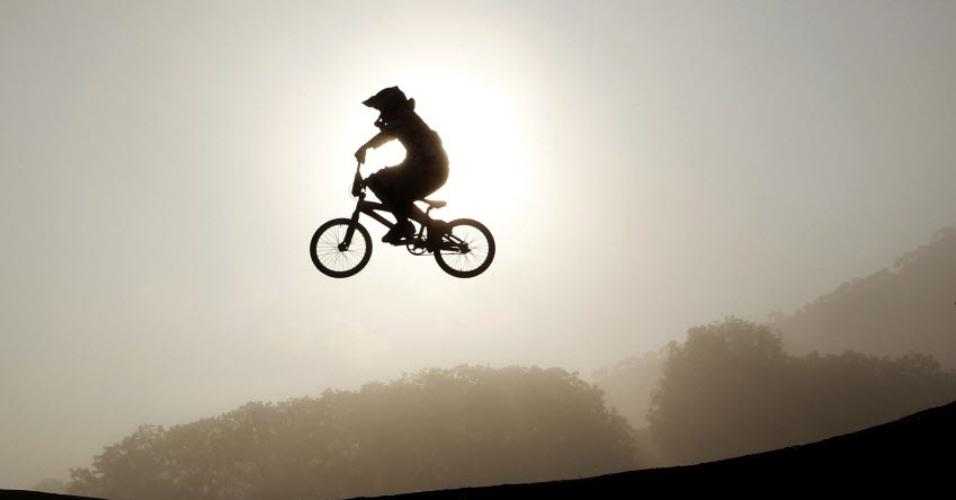 Prova de BMX do Pan de Guadalajara reproduz cena do filme