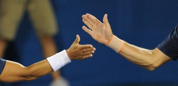 Ana Clara Duarte e Rogério Dutra ficam com o bronze nas duplas mistas do tênis do Pan