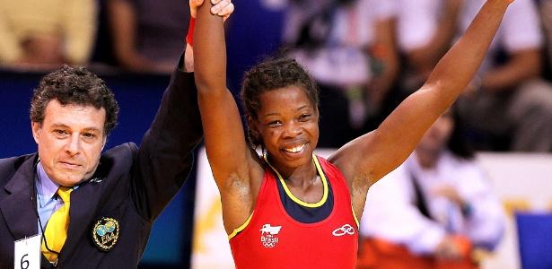 Joice Silva conquistou na repescagem medalha de bronze na categoria até 55 kg na luta