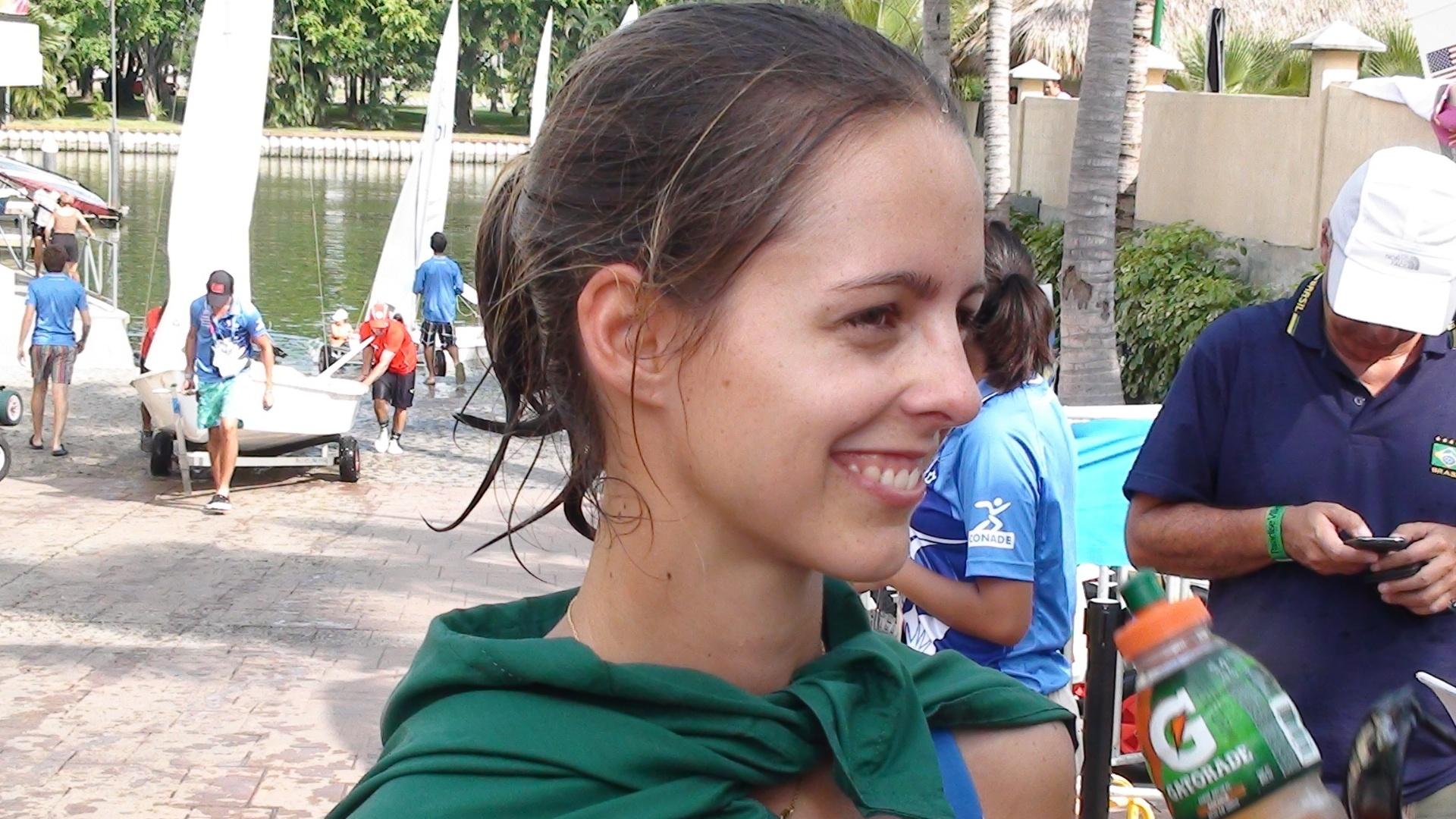Patricia Freitas já garantiu o ouro com um dia de antecipação na vela