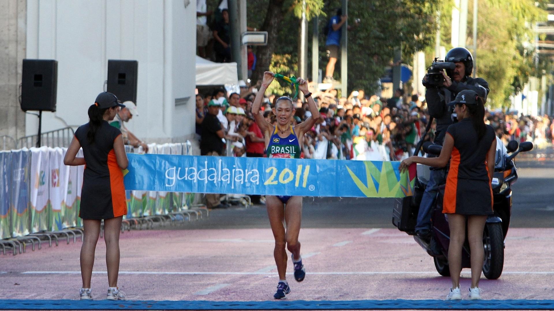 Adriana Aparecida da Silva vence a maratona feminina e registra o novo recorde pan-americano