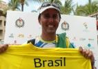 Sunga velha, meia suja e rituais marcam ouro brasileiro na vela do Pan