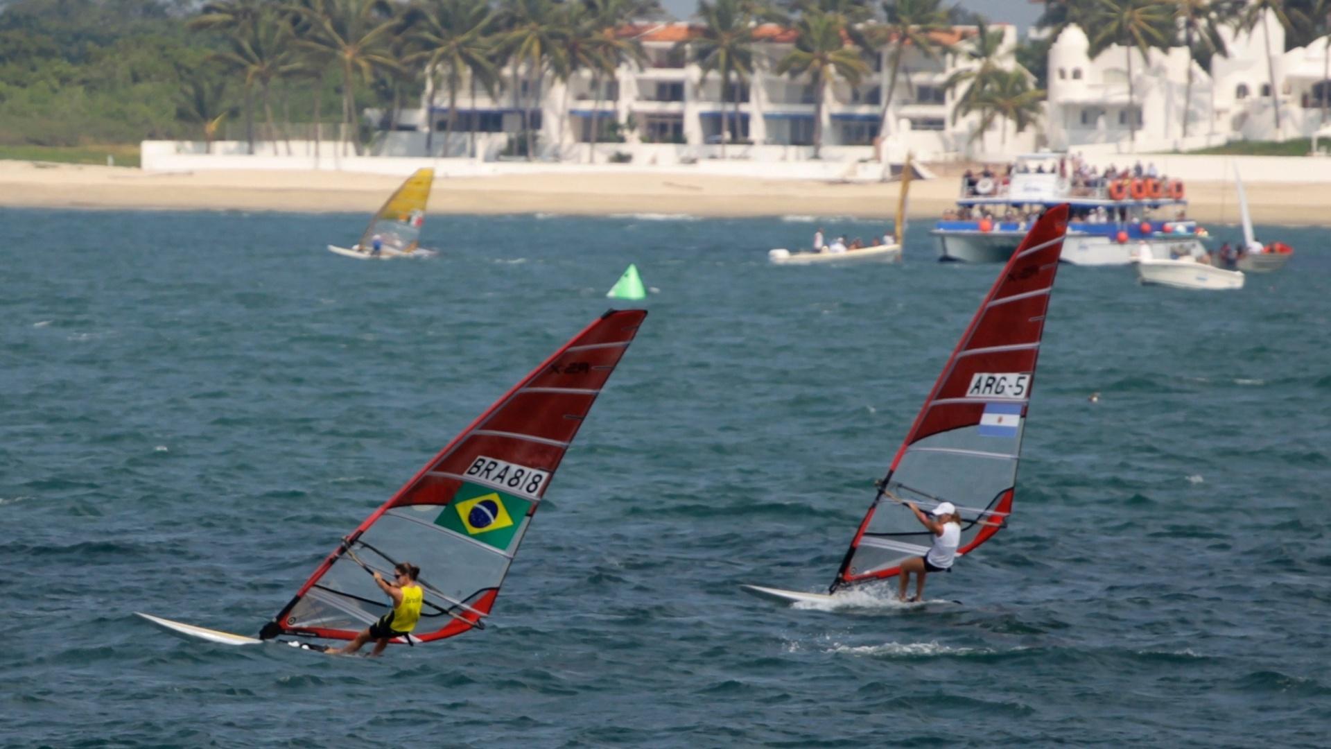 Com ouro garantido antecipadamente, Patrícia Freitas vence também a última regata da classe RS:X feminina (23/10/2011)