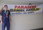 Daniel Paiola é recebido com festa por familiares após bronze no Pan-Americano