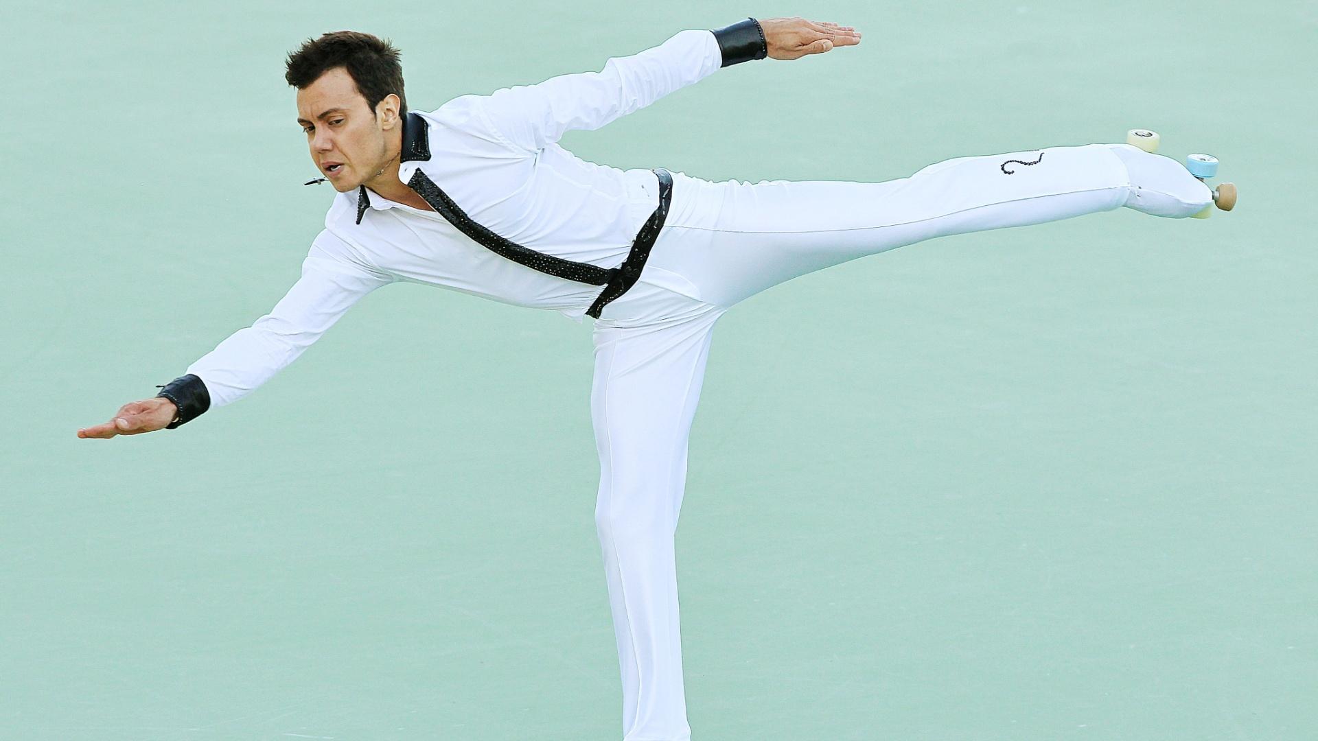 Marcel Stürmer disputa patinação artística dos Jogos Pan-Americanos de Guadalajara (23/10/11)