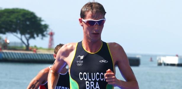 Reinaldo Colucci conquistou o ouro para o Brasil no triatlo do Pan