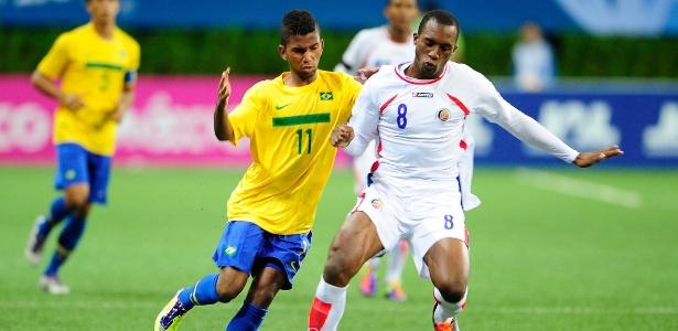 Cidinho encara a marcação da Costa Rica; Brasil deu adeus ao Pan ainda na 1ª fase