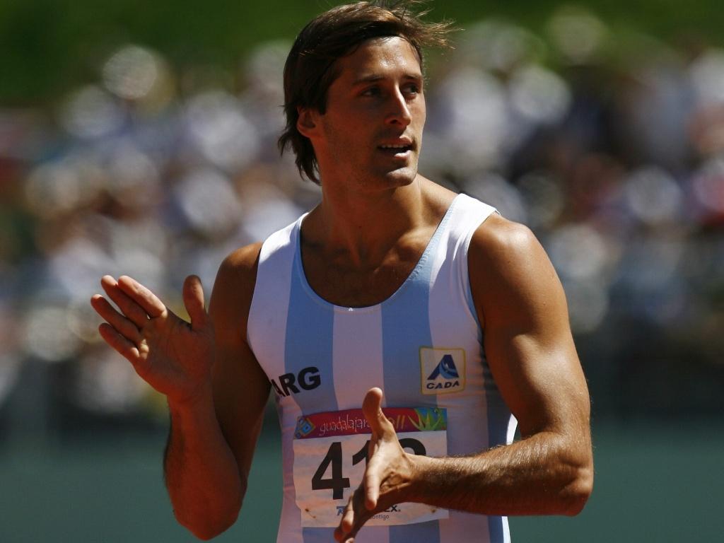 O argentino Roman Gastaldi durante a competição de decatlo no Pan-2011 (24/10/2011)