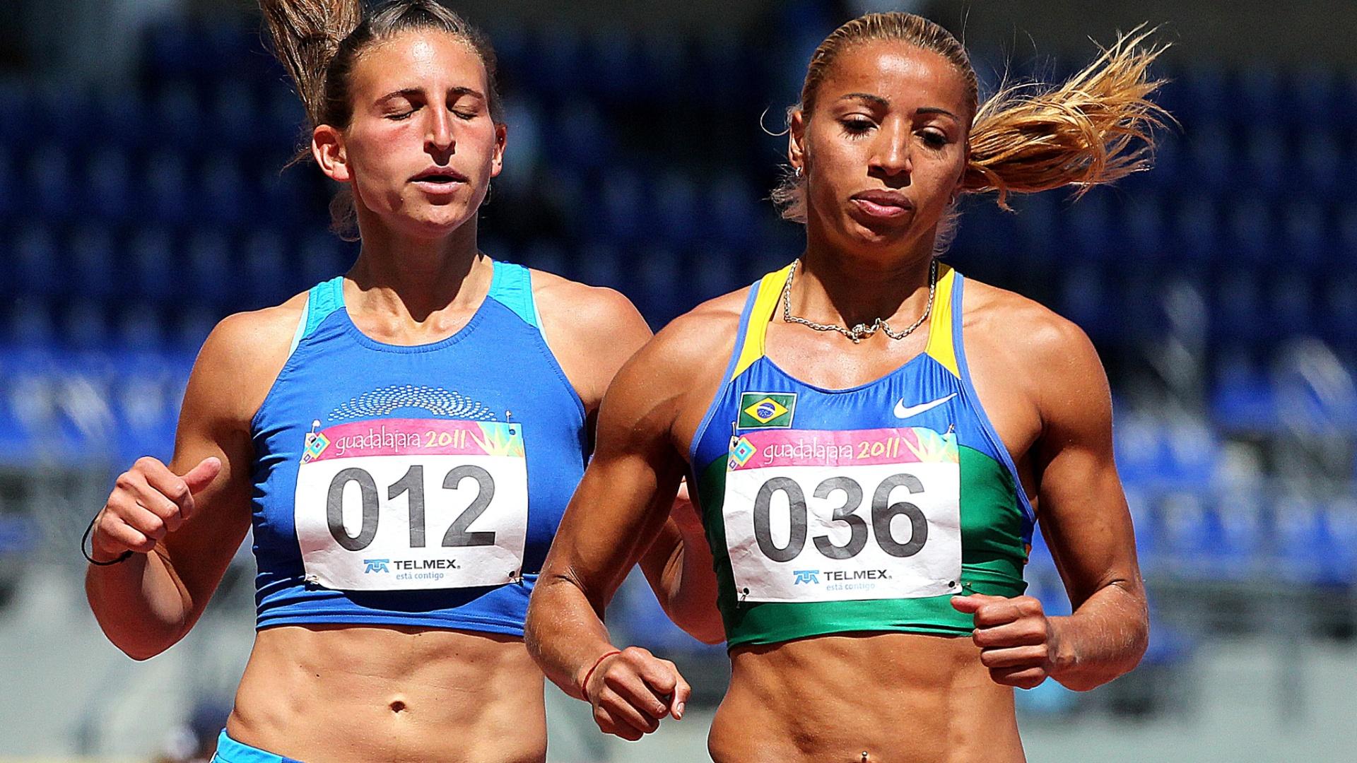 Lucimara Silvestre vence série dos 100 m com barreiras do heptatlo