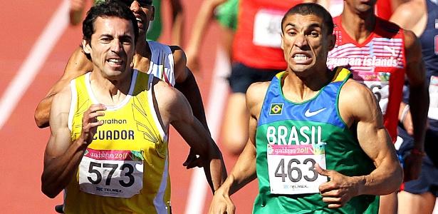 Leandro Prates disputa com equatoriano os metros finais e fica com o ouro por 0s01