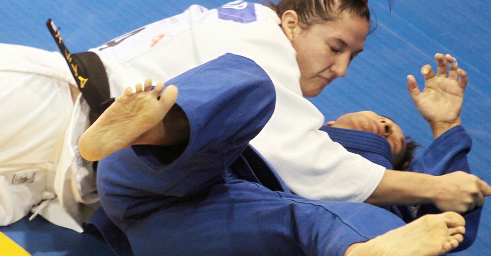 Mayra Aguiar atropelou a argentina Lorena Briceño e ficou com a medalha de bronze, na categoria até 78 kg
