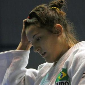 Mayra Aguiar em ação no Pan; judoca gaúcha é a primeira brasileira a assumir a ponta do ranking