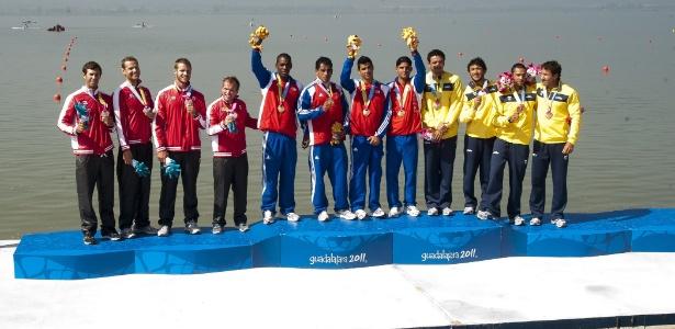 Equipe brasileira ficou com o bronze no K4 1000 m