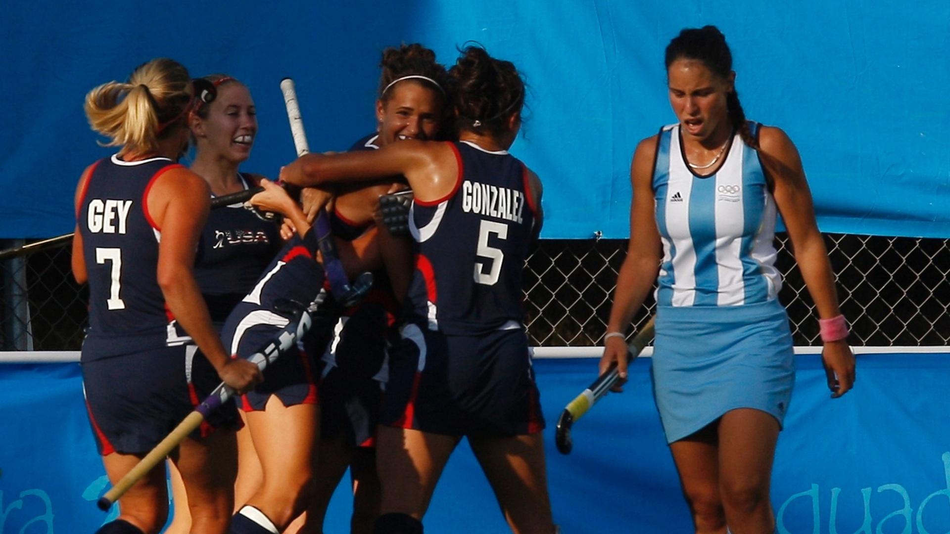 A Argentina perdeu para o Canadá na decisão do hóquei na grama por 4 a 2