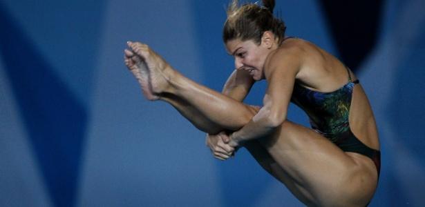 A brasileira Juliana Veloso avançou à final na quinta colocação em Guadalajara