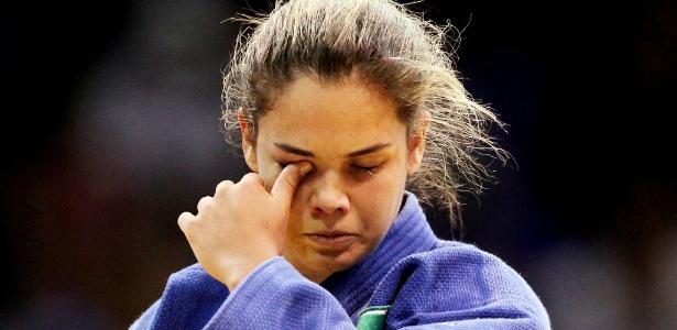 Katherine Campos lamenta após perder a disputa pela medalha de bronze no México