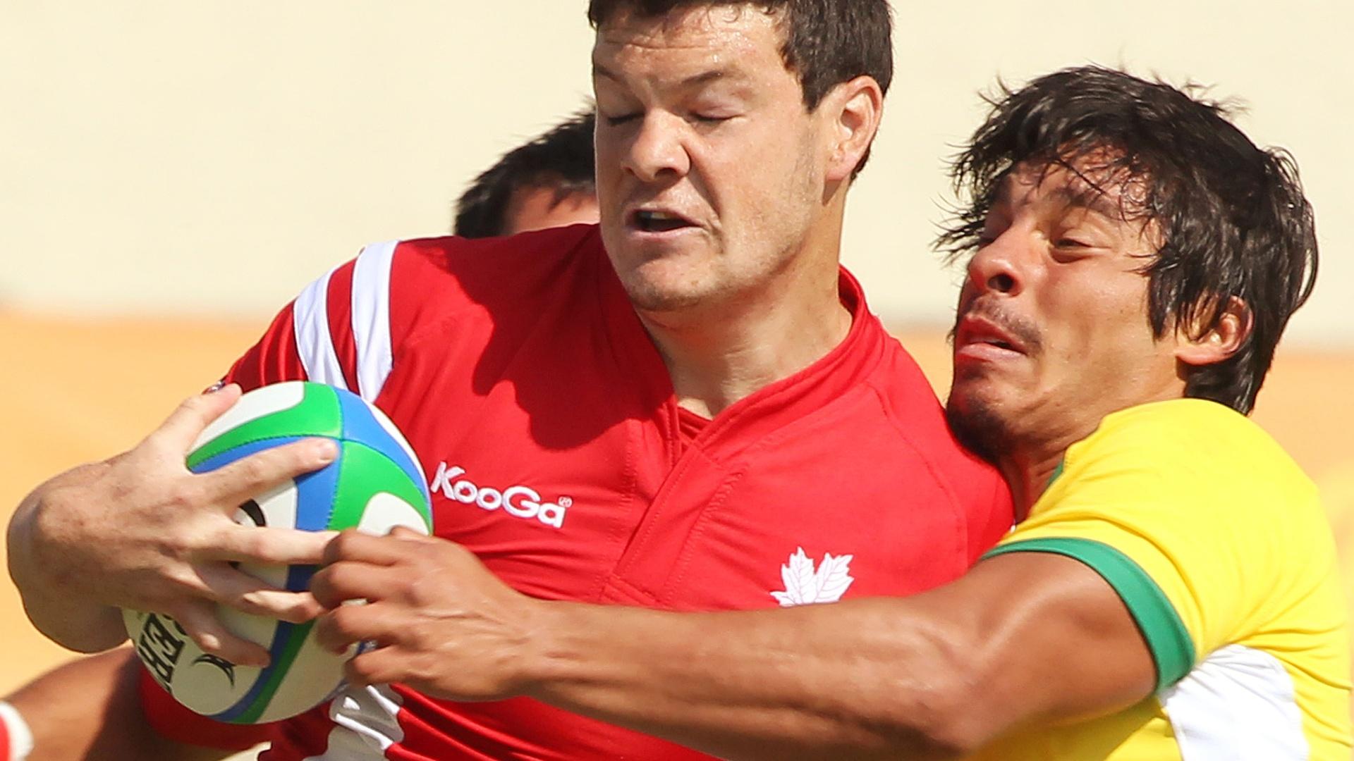 Brasil não segura Canadá no rúgbi e perde na estreia em Guadalajara