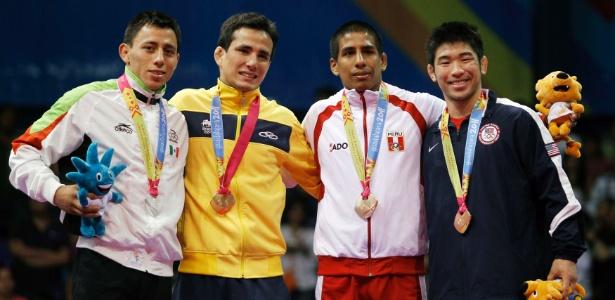 Felipe Kitadai conquistou a medalha de ouro no judô, na categoria até 60kg